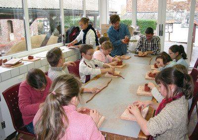 Biennale de la céramique 2006 - école - musée de la céramique