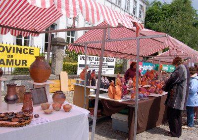 Biennale de la céramique 2006 - Marché des potiers - place du Chapitre (1)