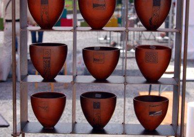 Biennale de la céramique 2006 - Marché des potiers - place du Chapitre (3)