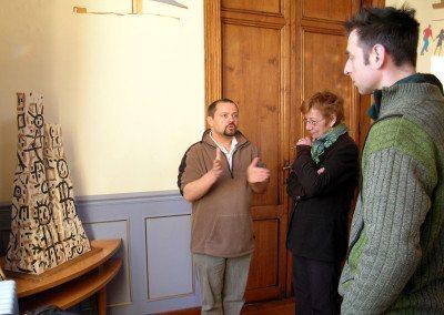 Biennale de la céramique 2006 - conférence de presse - andanna